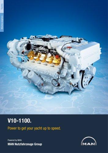 Yacht V10-1100 LD engine