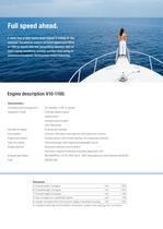 Yacht V10-1100 LD engine - 2