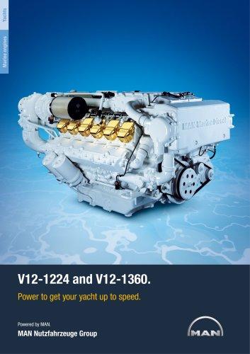 Yacht V12 1224/1360 LD engine