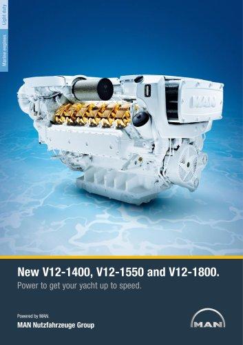 Yacht V12 1400/1550/1800 LD engine