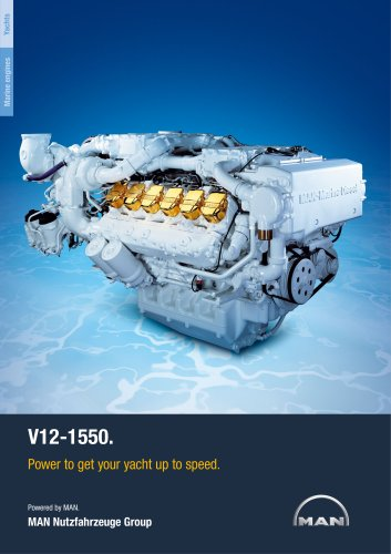 Yacht V12-1550 LD engine