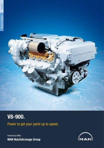 Yacht V8-900 LD engine