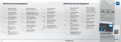 1500 Series Armrest Equipment