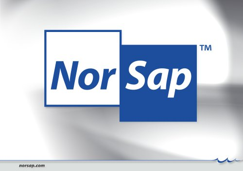 NorSap Catalogue 2009