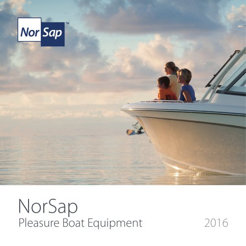 NorSap Pleasure Boat Catalogue