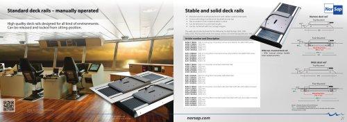 NorSap Standard Deck Rail