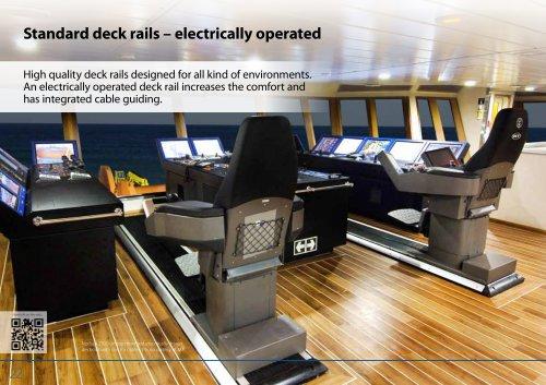 Standard deck rails