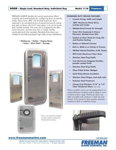 Bulkhead Doors Freeman Marine Equipment Pdf Catalogs Documentation Boating Brochures