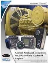 Control Panels and Instruments for Electronically Governed Engines - 1