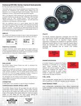 Control Panels and Instruments for Electronically Governed Engines - 2