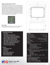 Control Panels and Instruments for Electronically Governed Engines - 7