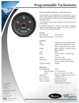 Programmable Tachometer - 1