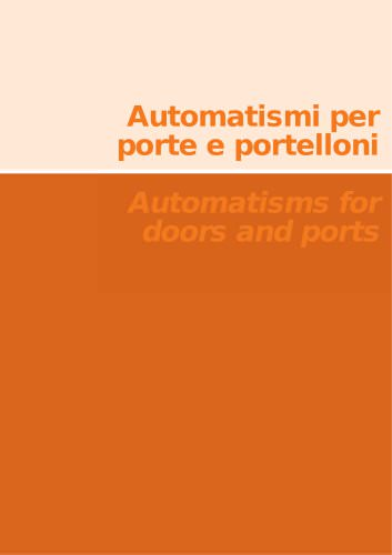 Automation for Ports and Doors