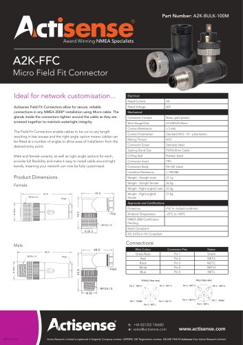 A2K-FCC Micro Field Fit Connector