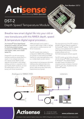 DST-2 Active DST module