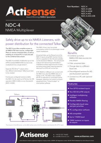 NDC-4 Datasheet