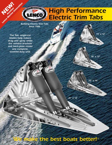 HIGH-PERFORMANCE TRIM TAB SYSTEM