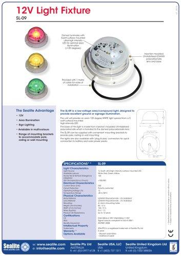 12V LED Area Light