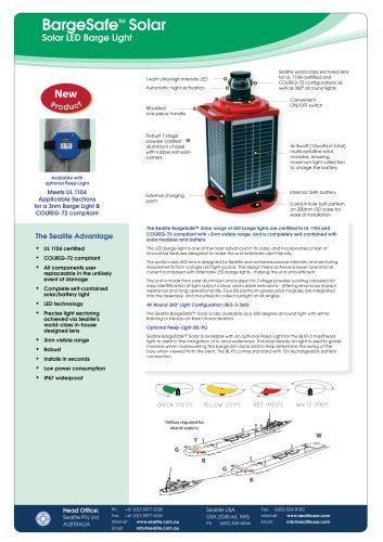 BargeSafe™ Solar