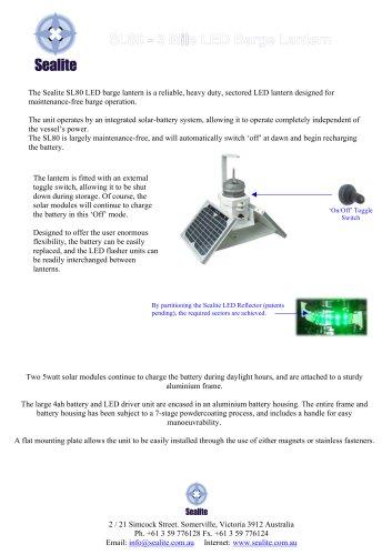 SL80 LED Barge Light