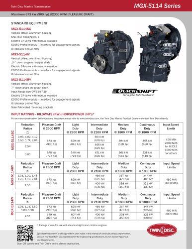 MGX-5114 Series