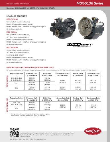 MGX-5136 Series