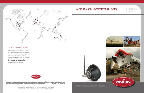 Power Take Off Product Brochure
