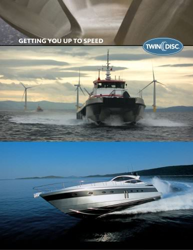 Twin Disc Marine Line Brochure
