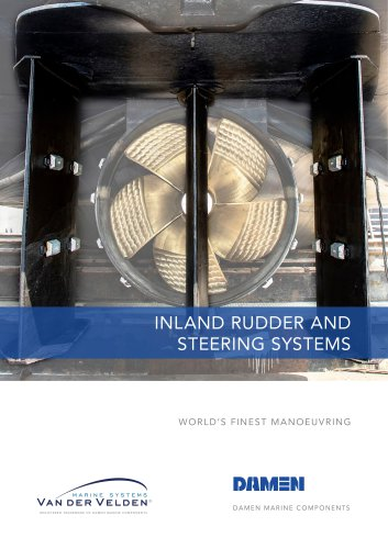 Inland rudder and steering systems