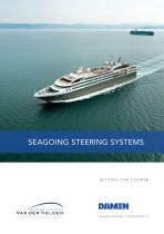 Seagoing steering systems - 1