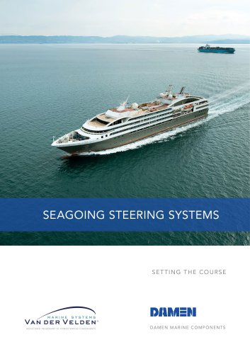 Seagoing steering systems