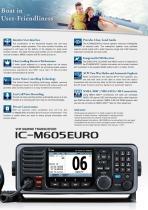 IC-M605EURO - 3