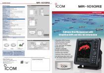 MR-1010RII Marine radar - 1