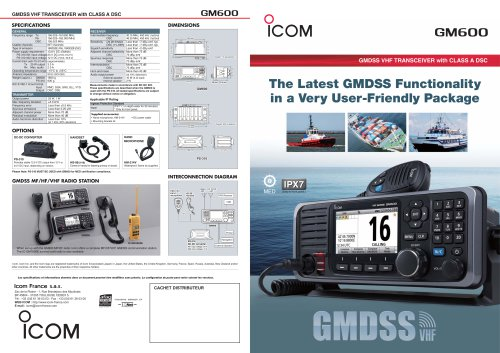 Radio GMDSS GM600