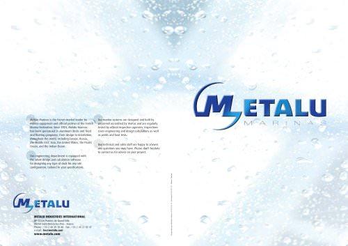 Metalu Brochure
