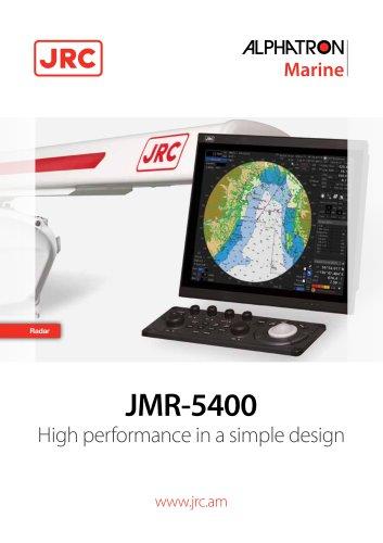 RadarSea JRC JMR-5400