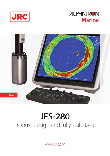 Sonar JRC JFS-280