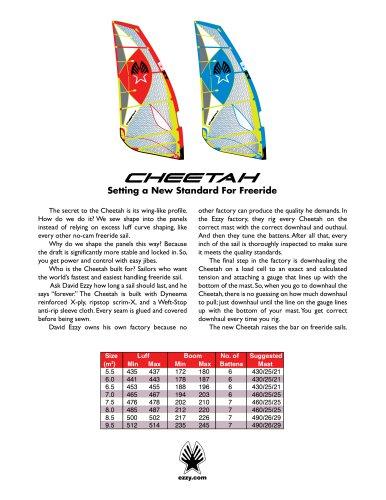 Ezzy Cheetah Catalog 2018