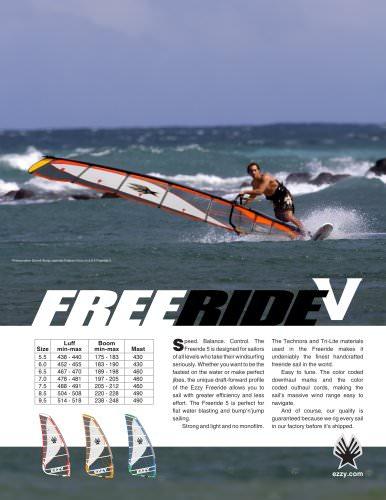 FREERIDE 5 BROCHURE 2011