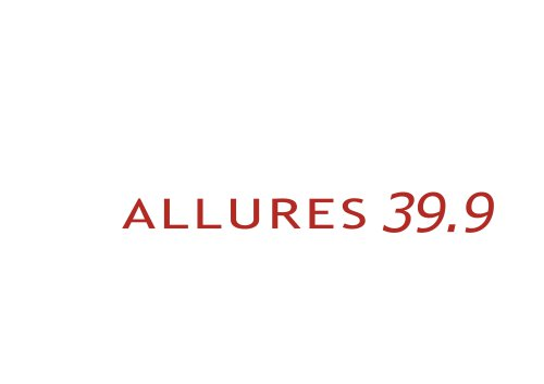 Allures 39.9 - Brochure (January 2014)