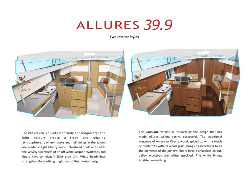 Allures 39.9 - Zen version and Classique version