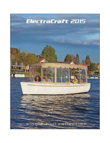 Electra Craft 2015 single-hull collection
