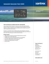 Automatic Generator Start (AGS) - 1
