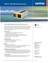 PROsine TM  1000/1800 Sine Wave Inverters - 1