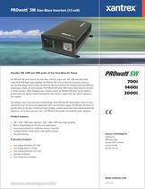 PROwatt TM  SW Sine-Wave Inverters (12-volt) - 1
