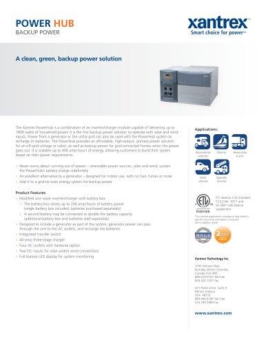 Xantrex PowerHub 1800