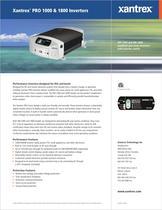 Xantrex TM  PRO 1000 & 1800 Inverters