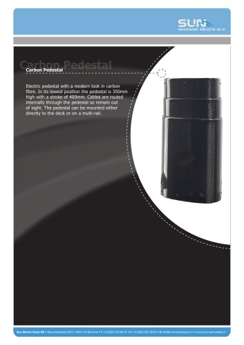 Carbon Pedestal