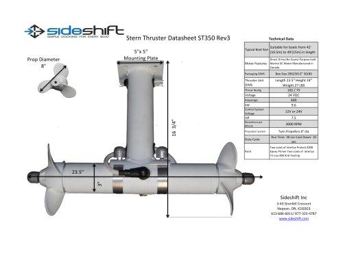 ST350 Datasheet
