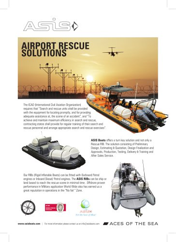 ASIS Airport Rescue Solutions Boat